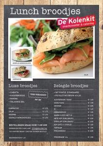 Kolenkit-lunchkaart